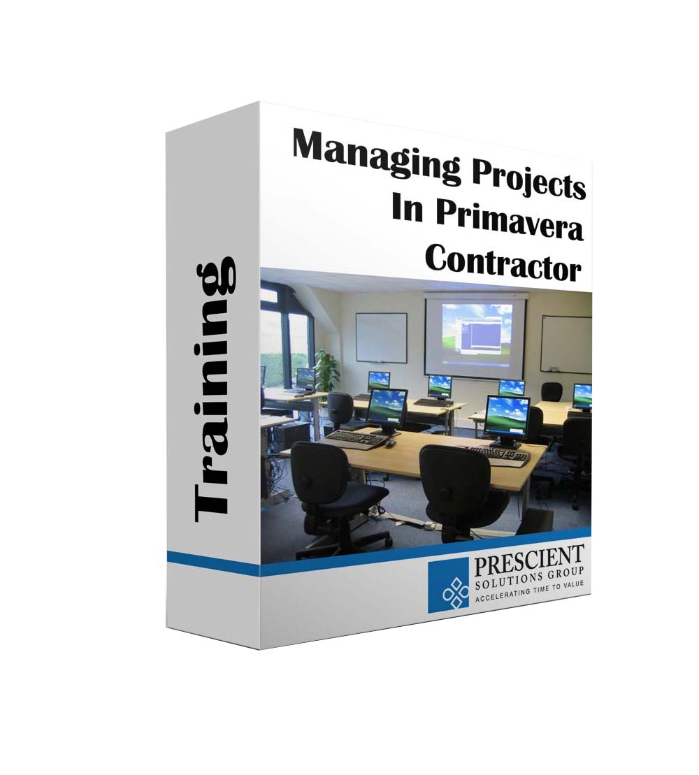 Manage Projects in Primavera Contractor