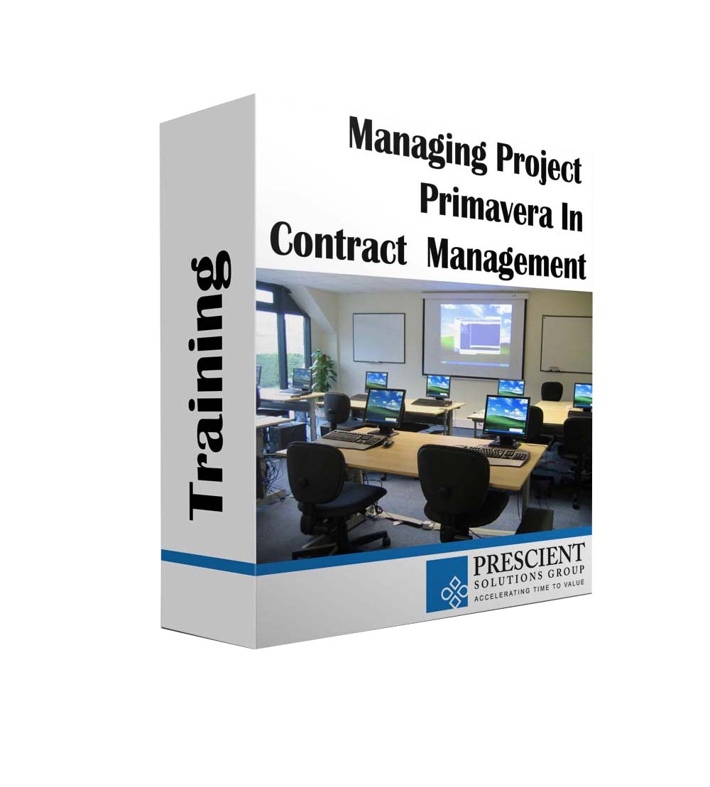Primavera Contract Management Training