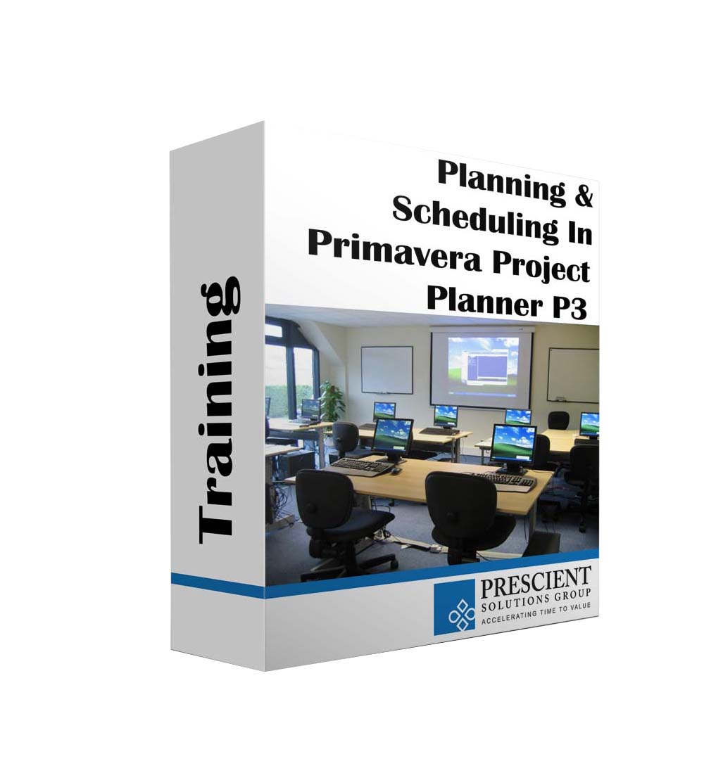 Planning & Scheduling in Primavera Project Planner P3 Course